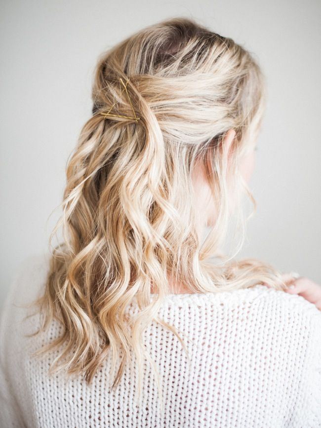 How-To: The Triangle Bobby Pins | lark & linen