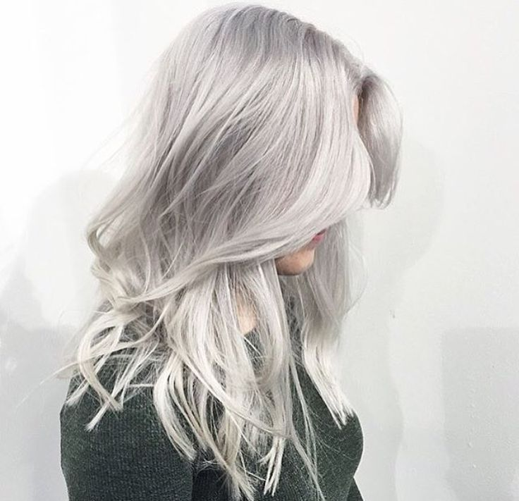 Best Hairstyles For 2017 2018 Silver Blonde Hair Color By Marije