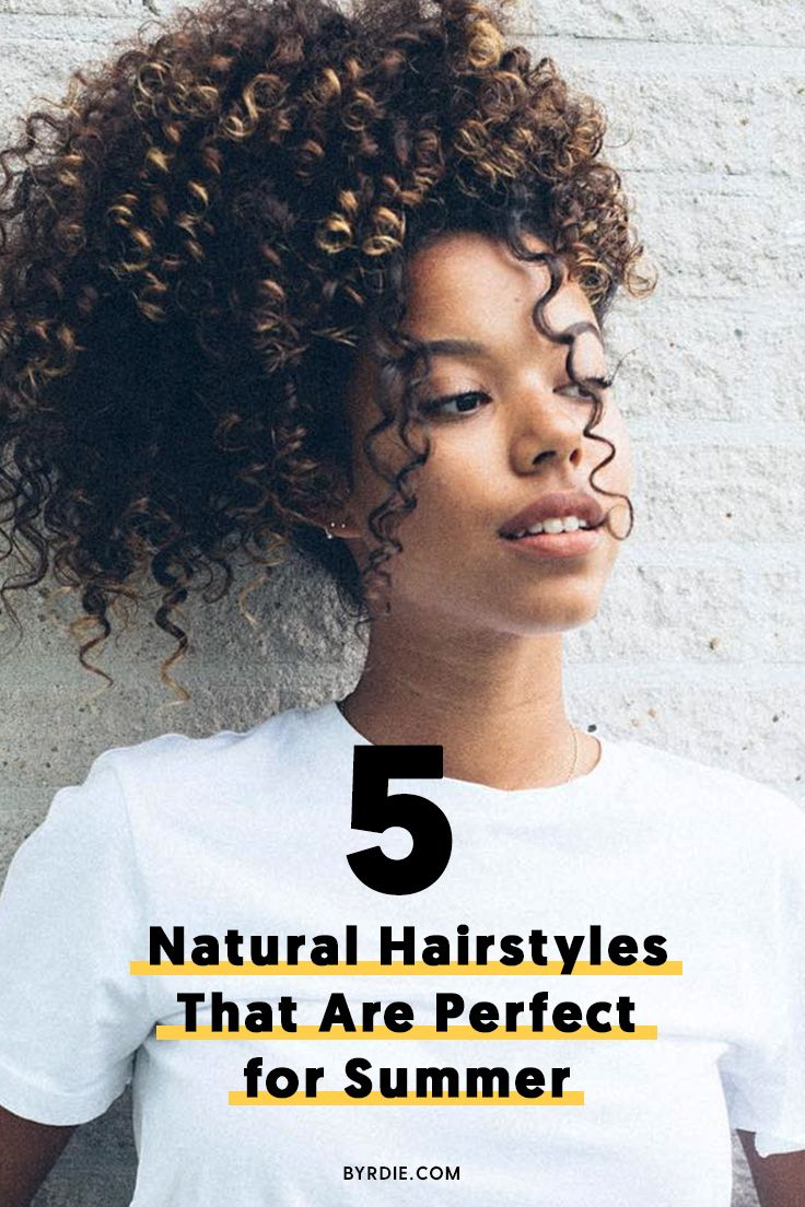 The best natural hairstyles for summer