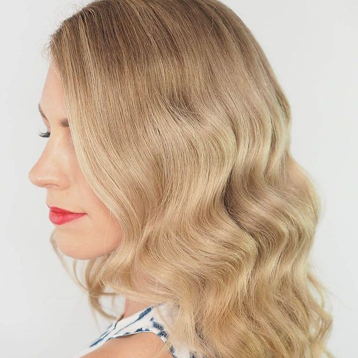 Those big curls also brush out into this beautiful wave. Check out my latest vid...
