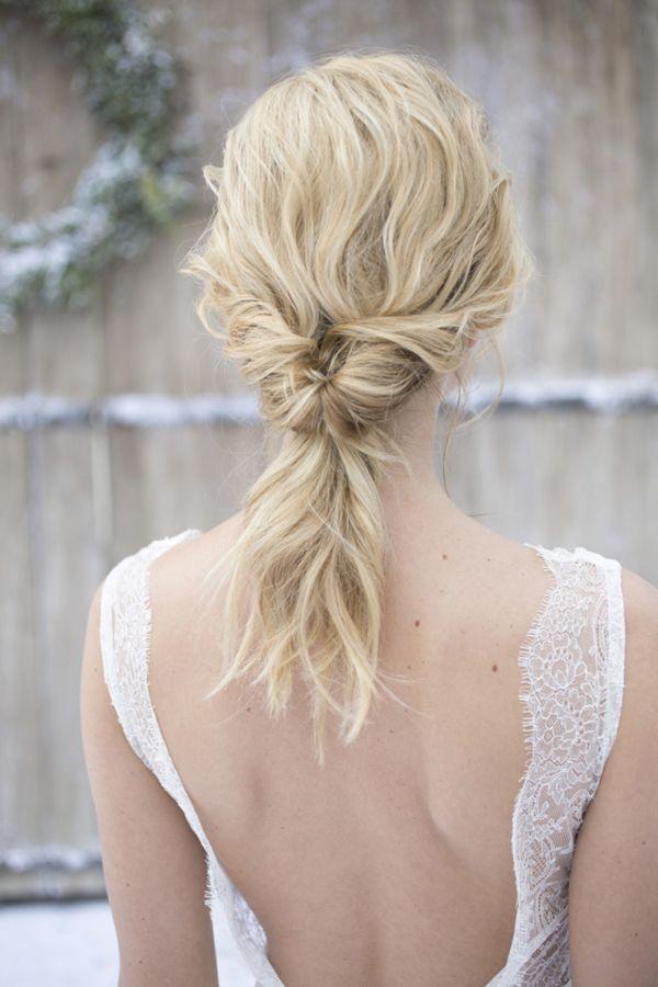 Twisted ponytail: Photography: Les Productions de la Fabrik - lesproductionsdel....