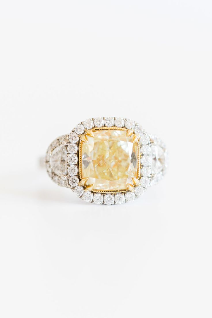 Belle's perfect engagement ring: www.stylemepretty...