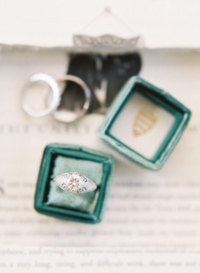 Bold engagement ring: www.stylemepretty...   Photography: Chris Isham - chrisish...