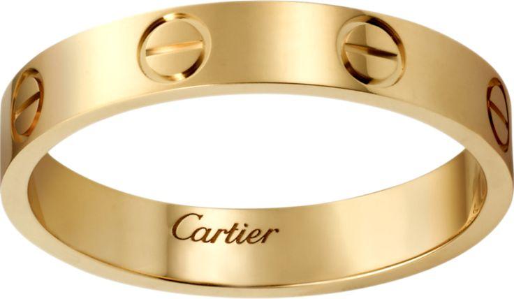 Cartier Love wedding band: www.stylemepretty...