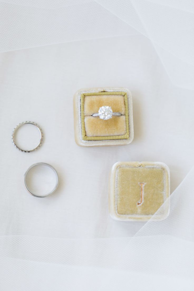 Classic solitaire engagement ring: Photography : Lauren Kinsey Read More on SMP:...