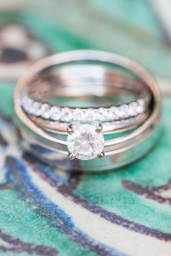 Classic solitaire engagement ring: www.stylemepretty... | Photography: Amalie Or...
