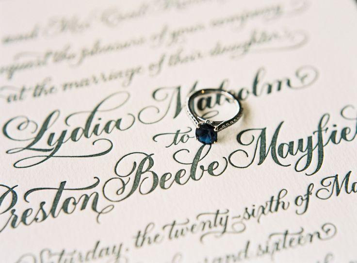 Dreamy sapphire engagement ring: Photography: Graham Terhune Photography - graha...