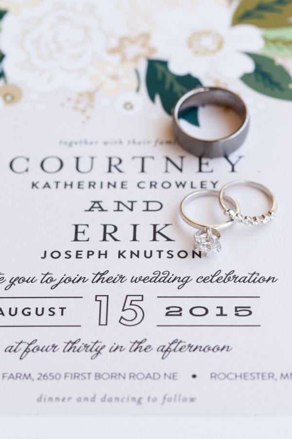 Gorgeous diamond ring set: www.stylemepretty... Photography: Laura Ivanova Photo...