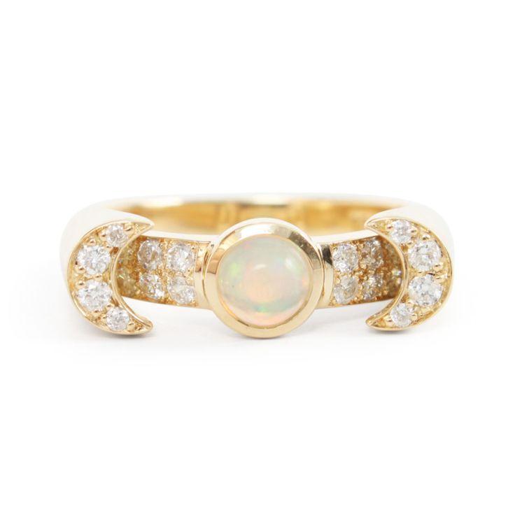 Pamela Love Luna Ring: www.stylemepretty...