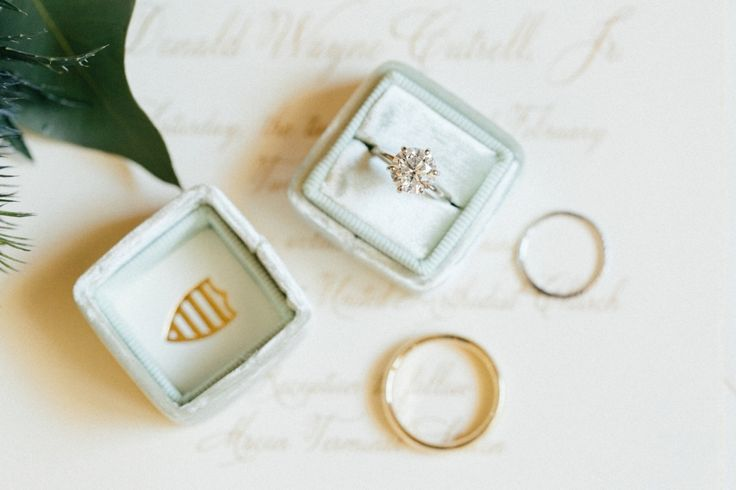 Pretty solitaire sparkler: www.stylemepretty... |  Photography: Jacqui Cole Phot...