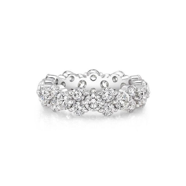 Rahaminov Diamonds Forevermark Offset Band www.stylemepretty...