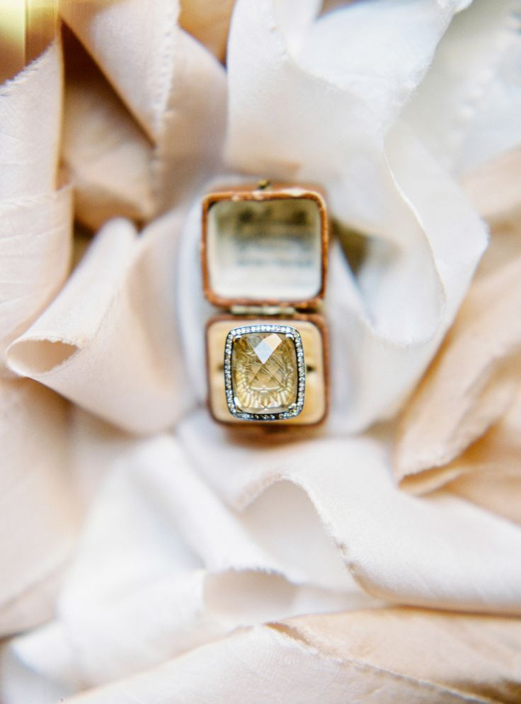 Stunning amber hued engagement ring: Photography : Muravnik Photography   Read M...