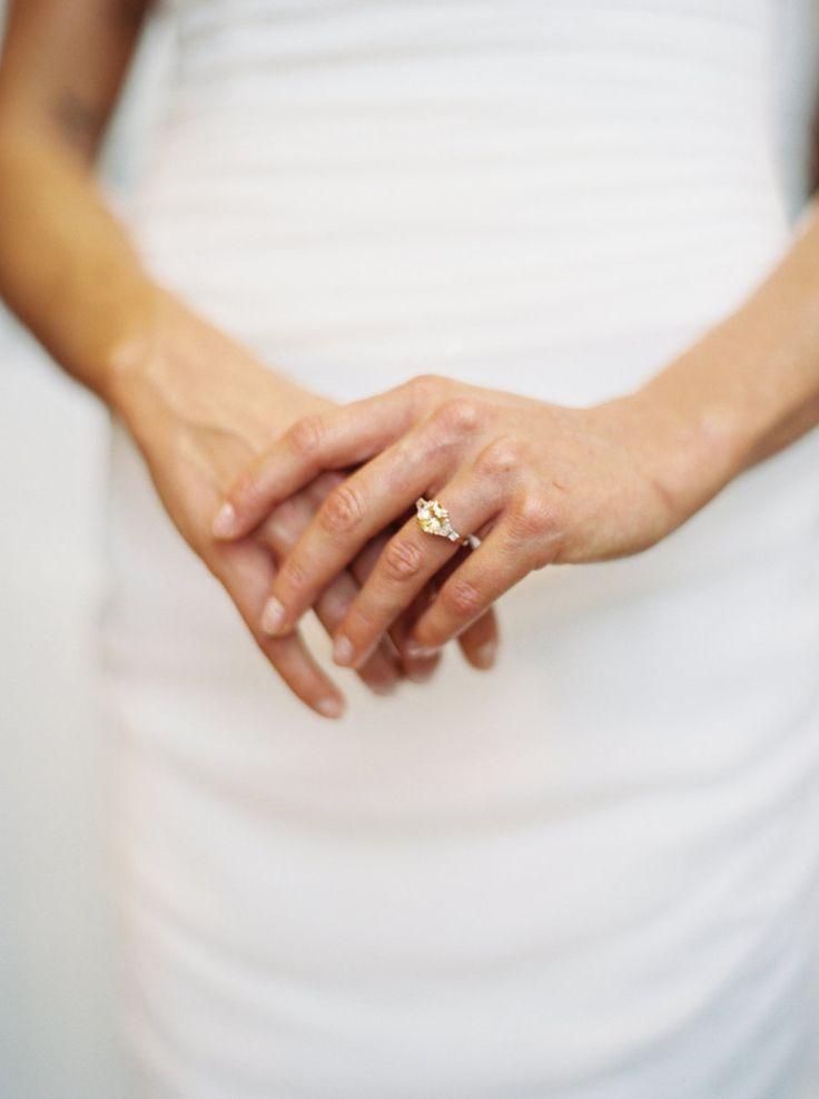 Stunning canary diamond engagement ring: Photography : Kyle John Photography Rea...