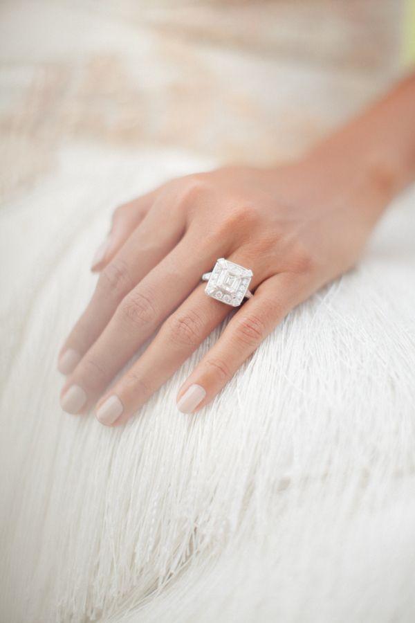 Stunning engagement ring rock: www.stylemepretty... | Photography: Sandra Aberg ...