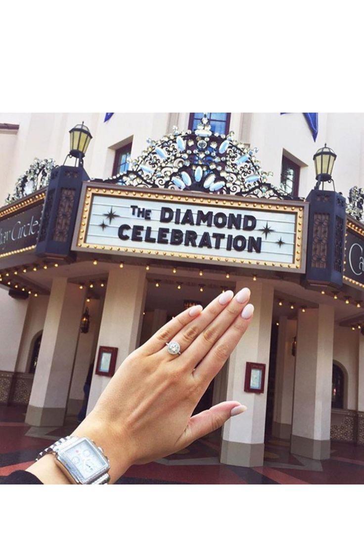 The diamond celebration! www.stylemepretty...