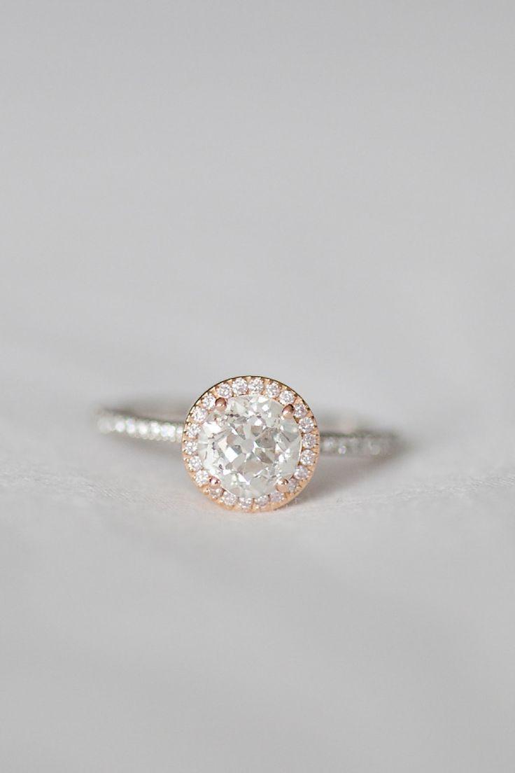 The Gemini engagement ring: www.stylemepretty...