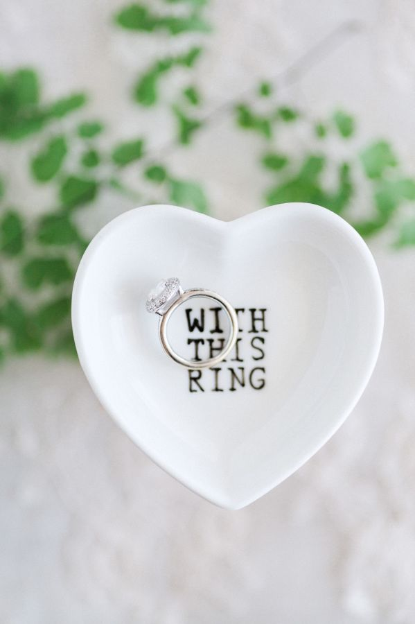 With this ring, I thee wed! www.stylemepretty...   Photography: Hunter Ryan Phot...