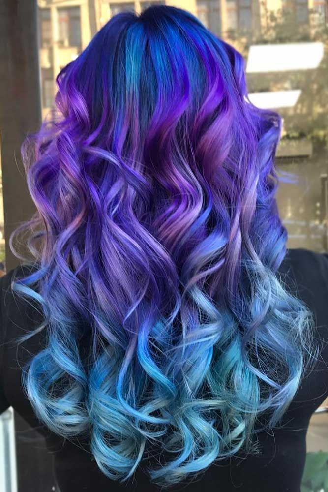 Hair Color 2017/ 2018 - Explore our gallery of vibrant ombre ...