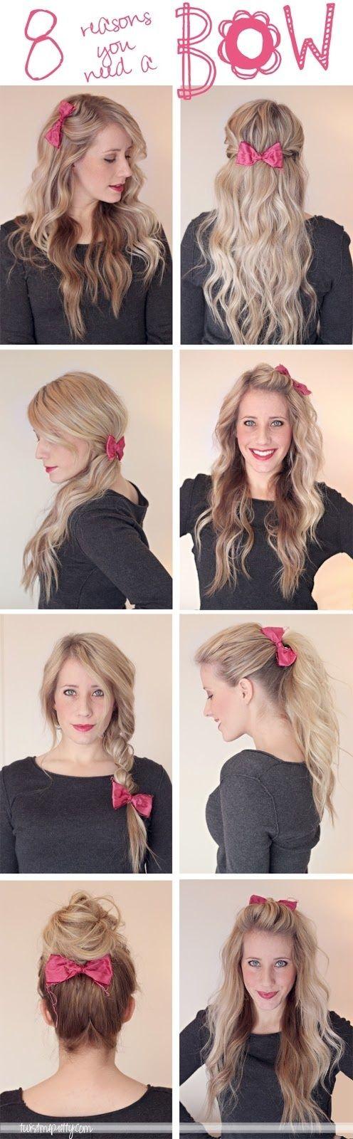 8 ways to wear a bow