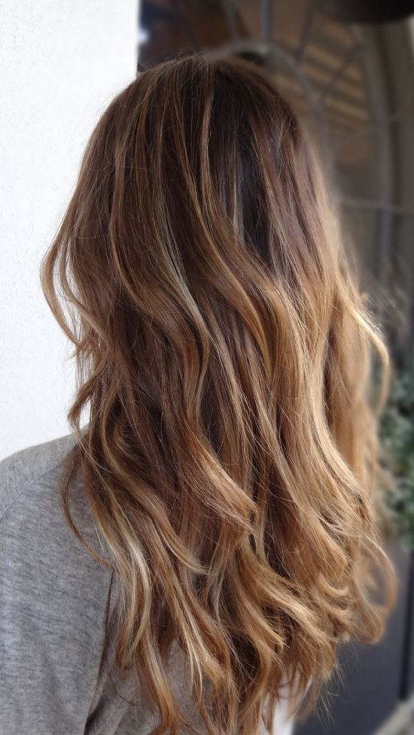 Balayage. gorgeous color and waves. {by Snowymtn}