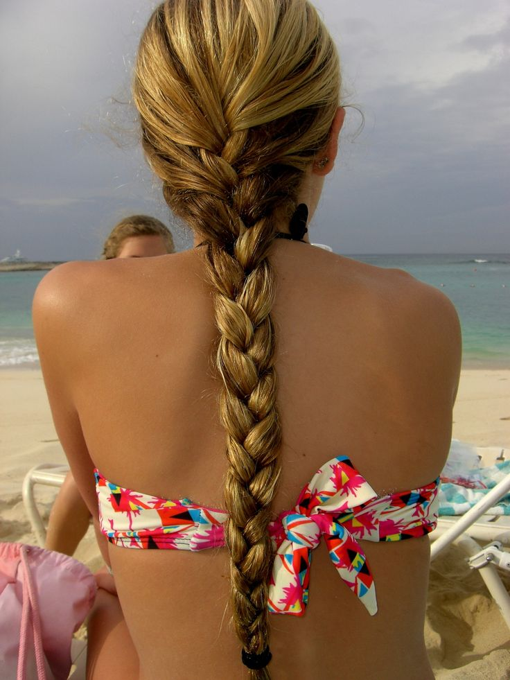 Beach braids  any other beach hair. (besides sexy beach waves ;) ) Dreaming of a...