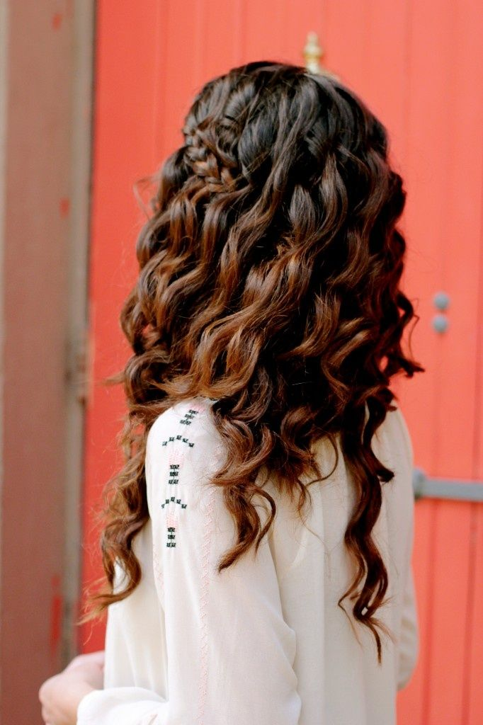 beautiful cool dark brown fading ombre style or lacing style into a rich, carame...