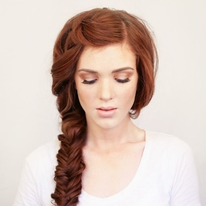 Bohemian Side Braid Festival Hair Tutorial;