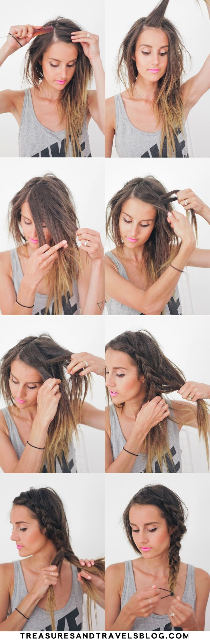 Hair Tutorial // Thick Summer Braid — Treasures & Travels