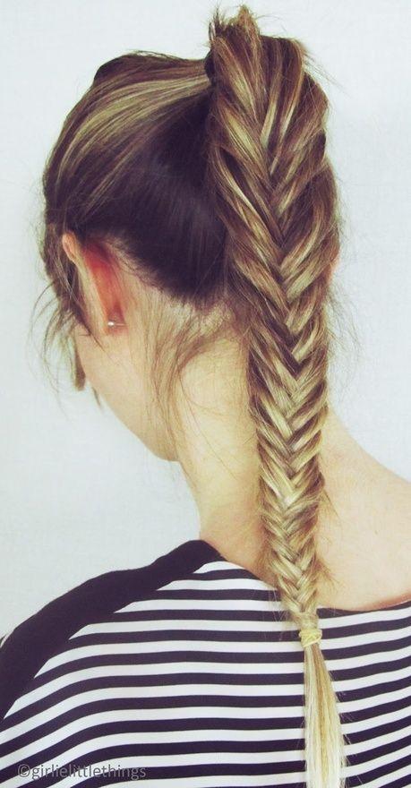long fishtail braid #hair