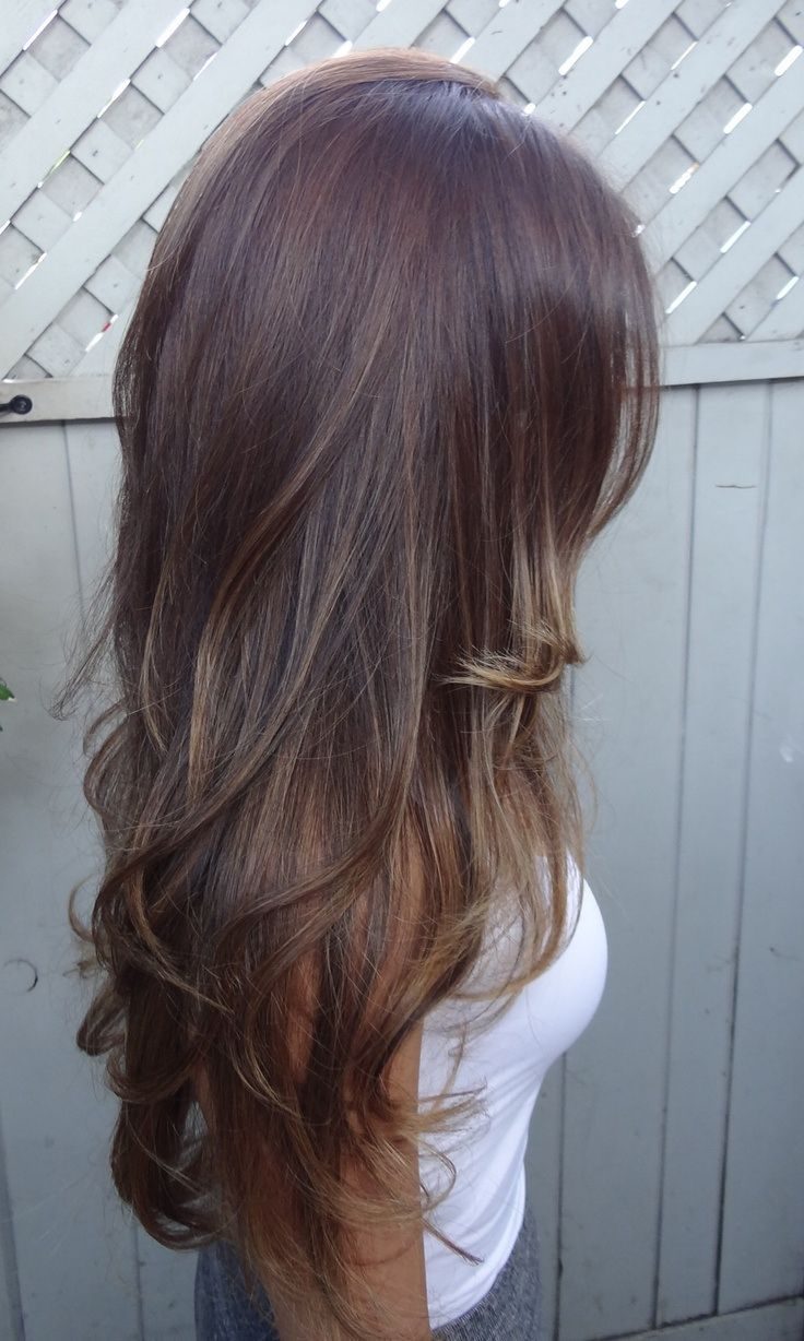 long layers. Subtle highlights. - Daily New Fashions