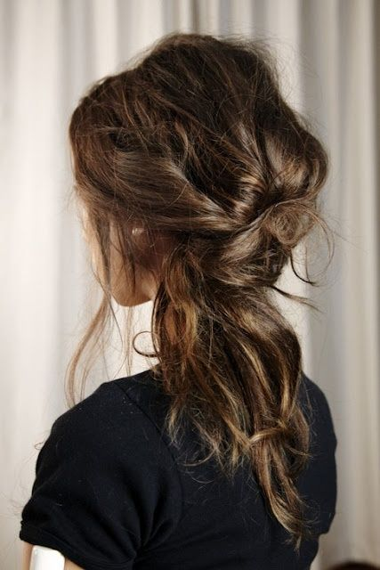 messy 3-twist do, Perfectly-messy do and I can't wait to try it! What a beau...