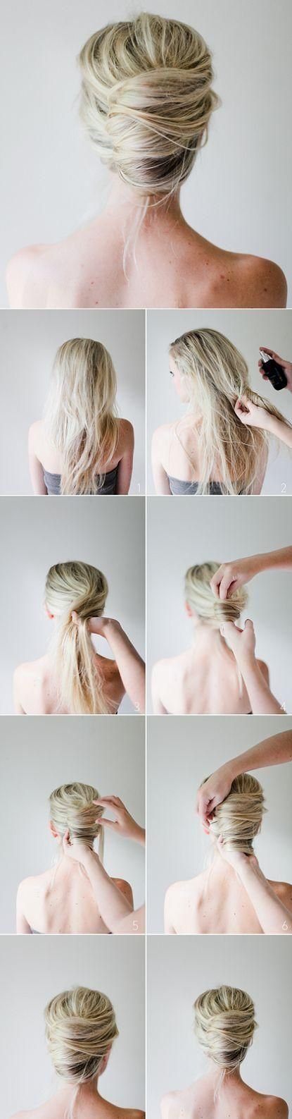 Messy French Twist ♥ Stylefruits Inspiration ♥