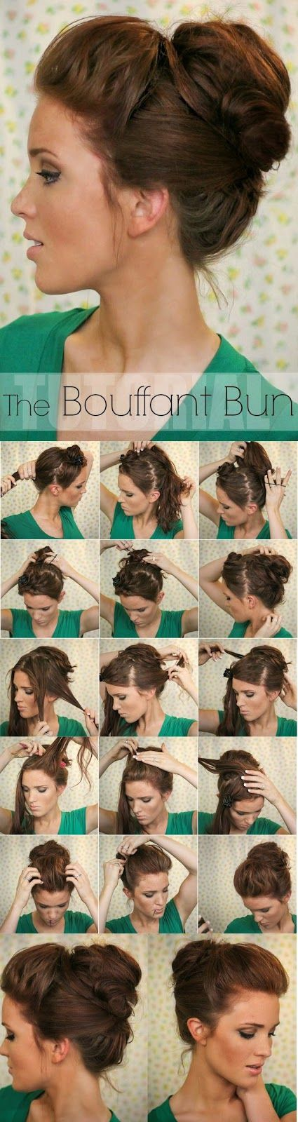 Super Easy Knotted Bun Updo and Simple Bun Hairstyle Tutorials :Wedding Hairstyl...