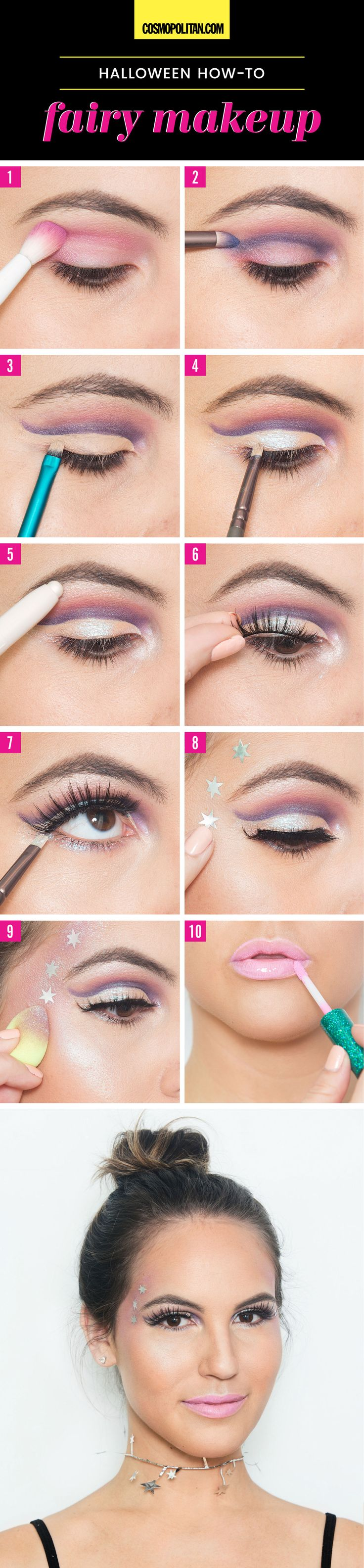 10 Halloween Looks You Can Create With Makeup You Already Have - Cosmopolitan.co...
