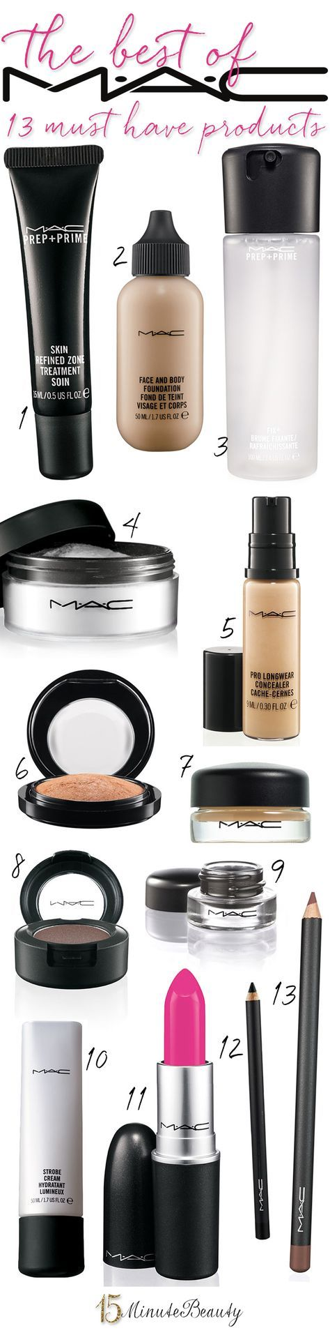 15 Minute Beauty Fanatic: The Best of MAC: The 13 Products You Must Have! i plan...