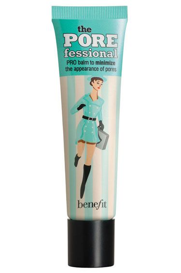 Benefit POREfessional  A little of this clear gel goes a long way under sheer ma...