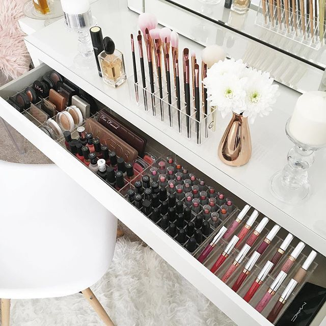 Decking out my IKEA Malm draws with the new Complete Vanity Pack 2.0 . .  This d...