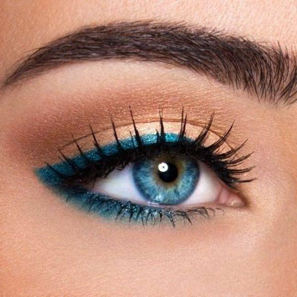 Dezentes Augen Make up - Schöne Tipps und Tricks                               ...