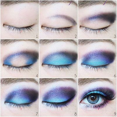makeup ideas 2017/ 2018  disney the little mermaid ariel