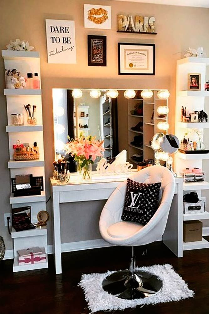 Every lady needs a corner in her home where she can beautify and relax at the sa...