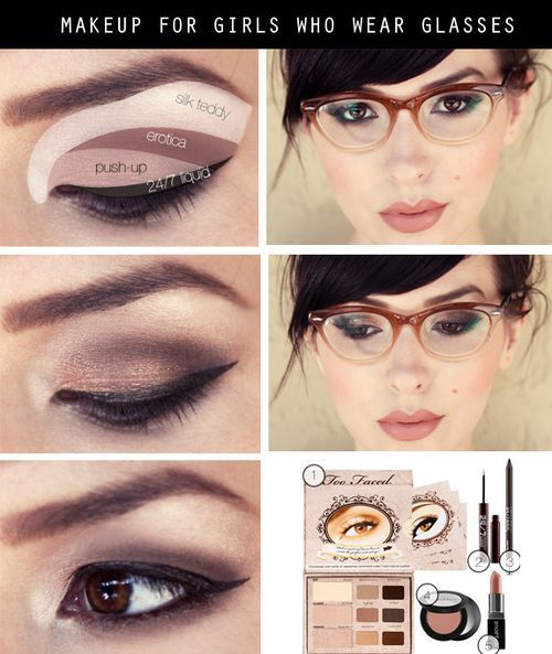 Eye Makeup Tutorial For Girls With Glasses Pictures, Photos, and Images for Face...