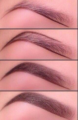 Eyebrows tutorial step by step sulia.com/...: