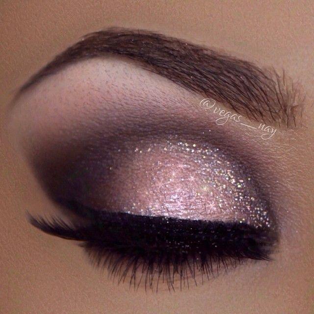 Gorgeous eyeshadow colors & technique!!! Brown, pink, purple, nude, black, & GLI...