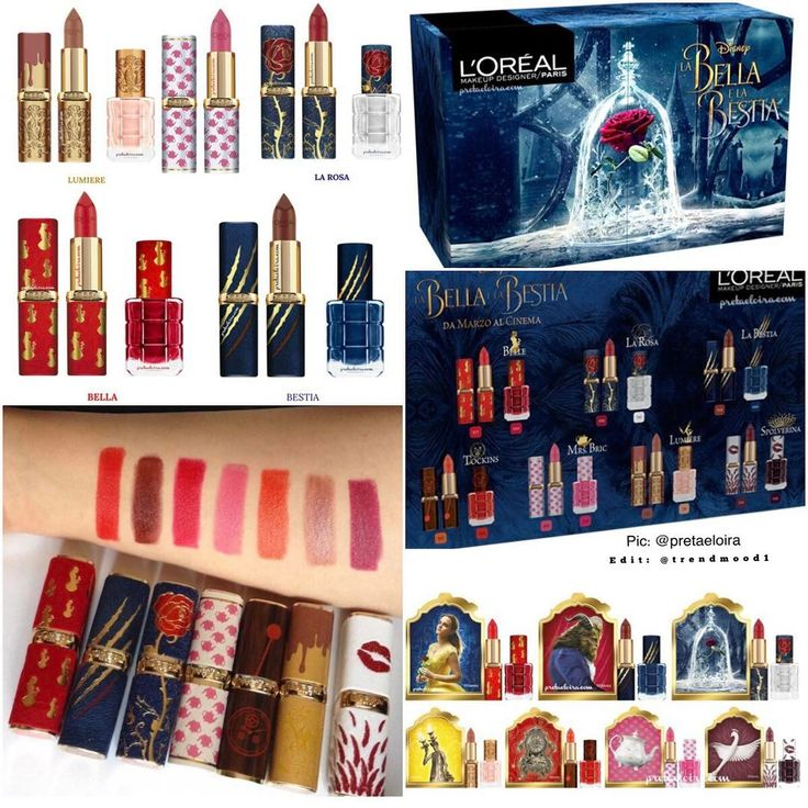 L'Oreal's New *Beauty and the Beast* Makeup Collection Is Just as Gorgeo...