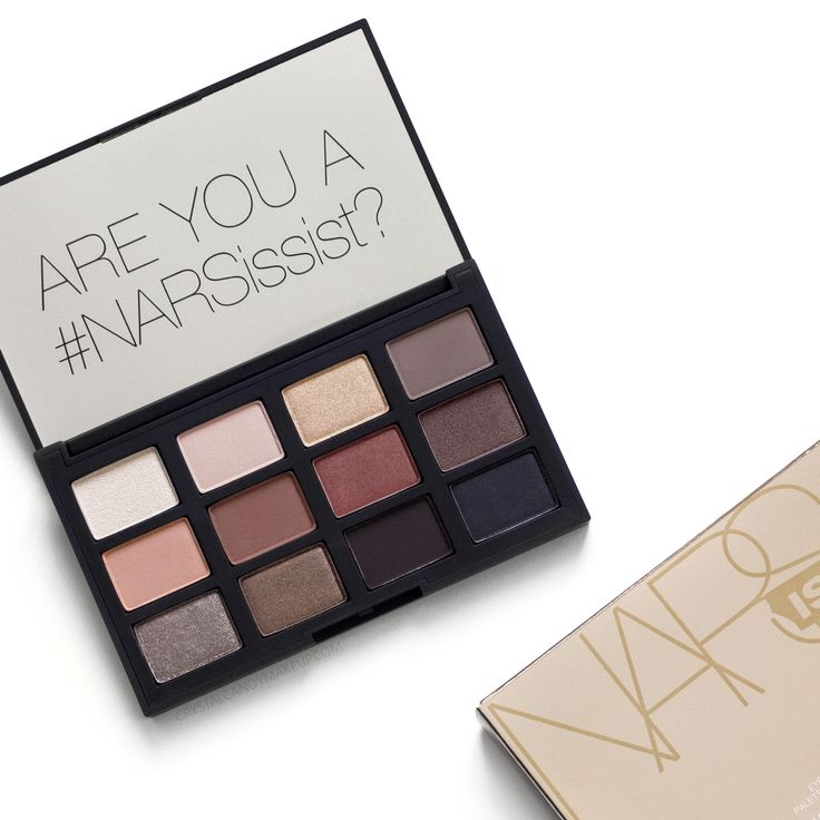 NARS Loaded eyeshadow palette, review and swatches