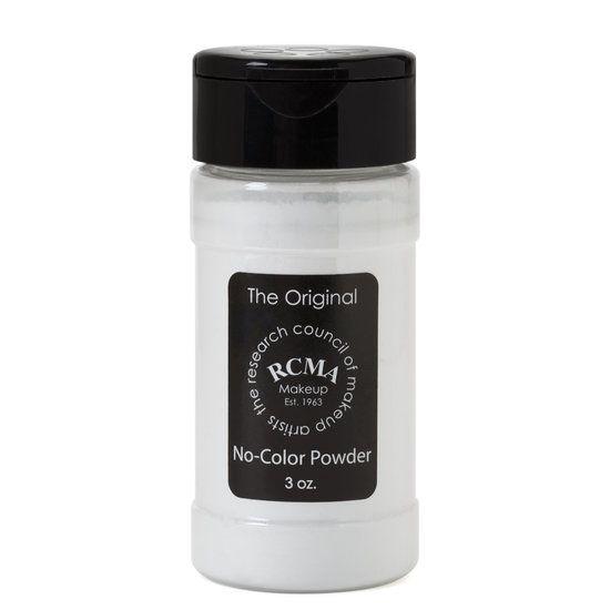 RCMA Makeup No Color Powder 10 oz.   Beautylish a must for baking under eye