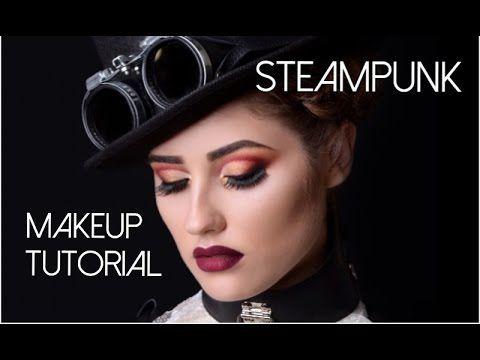 Steampunk Makeup! | heygooglious | Samantha Ebreo - YouTube