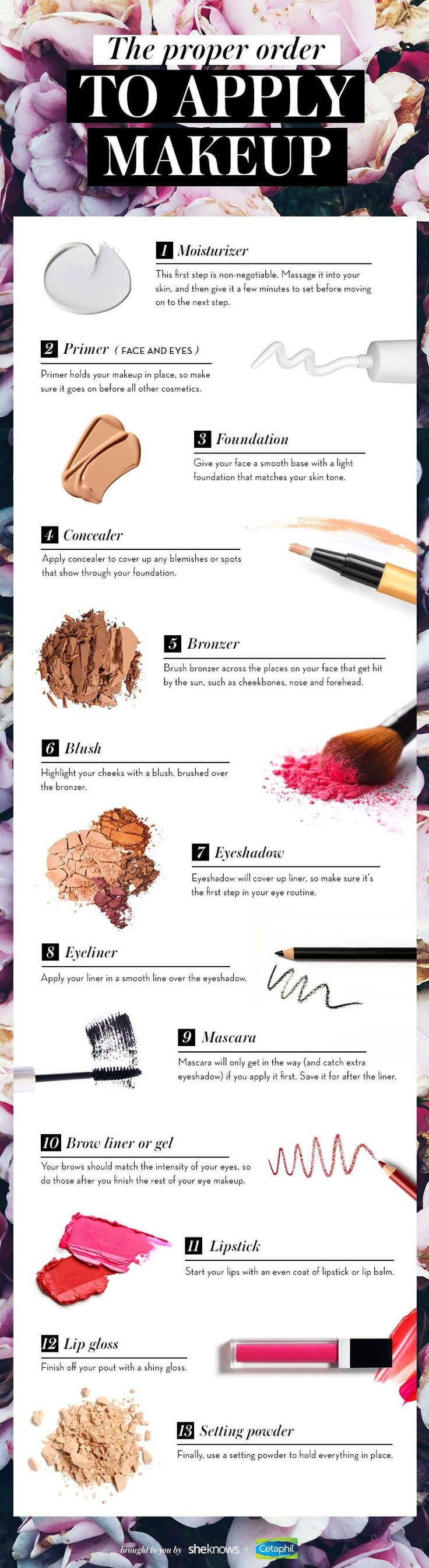 The order in which you apply your makeup matters — and you're probably doi...