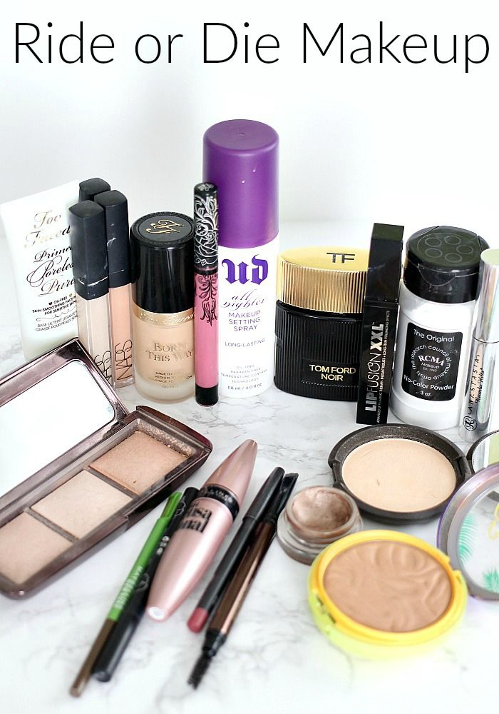 The Ride or Die Makeup Tag Inspired By Jaclyn Hill... aka my Holy Grail makeup p...
