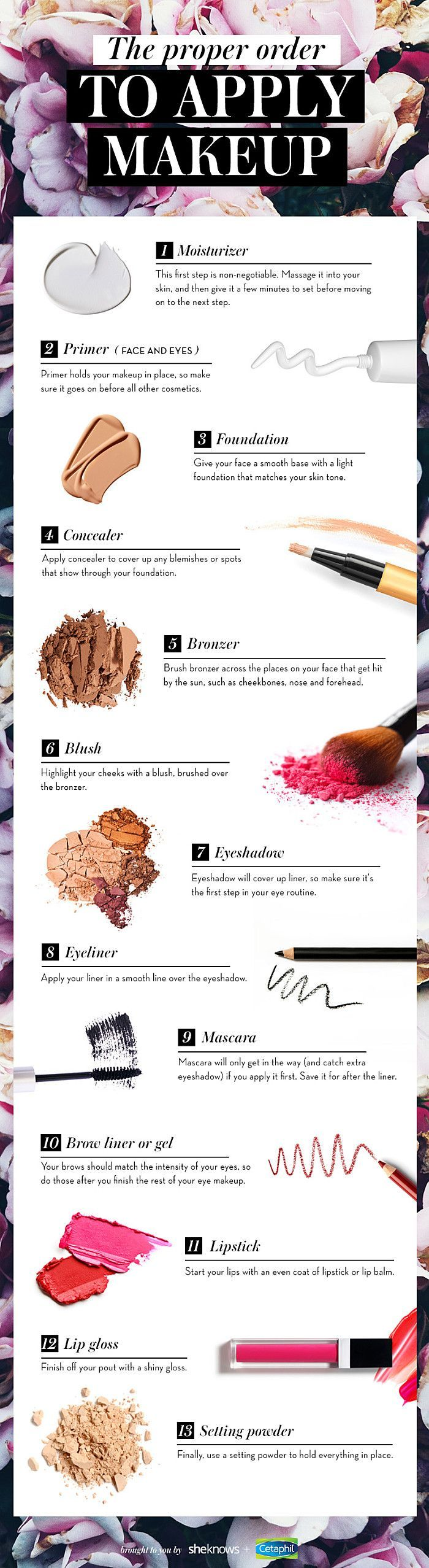 There#39;s a correct order for applying makeup and I#39;m going to tell you what...